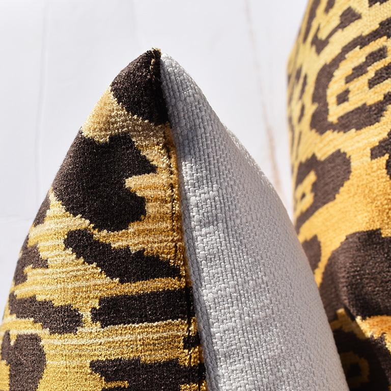 Neoclassical Leopardo Fabric By the Yard - Two Yards