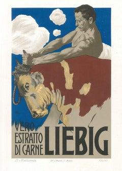 Liebig - Vintage Adv Lithograph by L. Metlicovitz - 1899