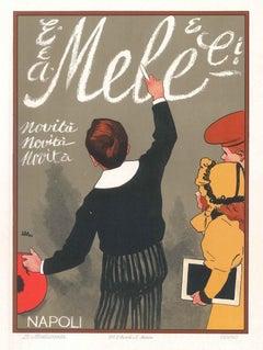 Mele - Vintage Adv Lithograph by L. Metlicovitz - 1900 ca.