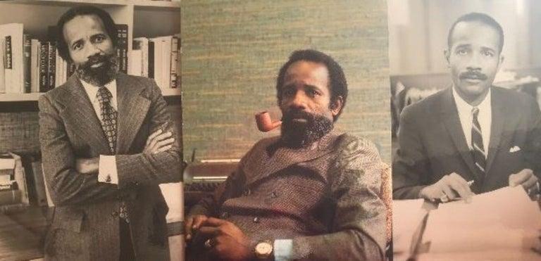 Lerone Bennett Ebony Magazine Harvey Probber Mid-Century Modern Sectional Sofa For Sale 8