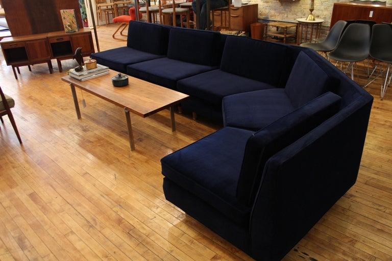 Mid-20th Century Lerone Bennett Ebony Magazine Harvey Probber Mid-Century Modern Sectional Sofa For Sale