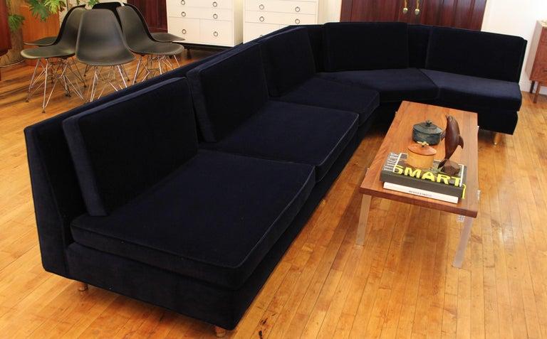 Lerone Bennett Ebony Magazine Harvey Probber Mid-Century Modern Sectional Sofa For Sale 3