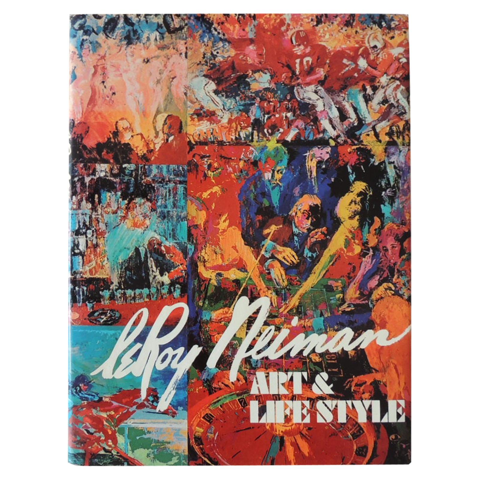 LeRoy Neiman Art & Lifestyle Hardcover Coffee Table Book