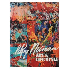 LeRoy Neiman Art & Lifestyle Hardcover Coffee Table Book