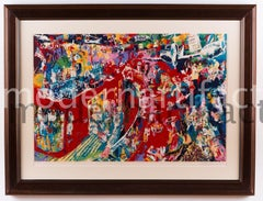 Leroy Neiman Bar at 21 Limited Signed Painting Art All Offers Considered