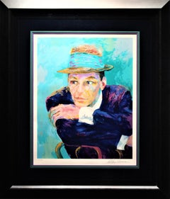 LeRoy Neiman Frank Sinatra the Voice Limited Signed Authenticity Included