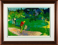 Leroy Neiman Golf Threesome Limited Edition Serigraph