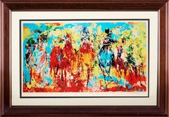 Leroy Neiman Stretch Stampede Limited Signed All Offers Considered