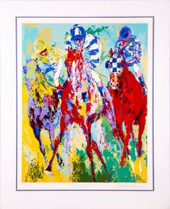 Leroy Neiman The Finish Limited Edition Signed Serigraph 214/300