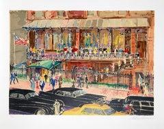 21 Club, Serigraph by Leroy Neiman