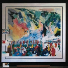 Aspen Mountain Rendezvous - Limited Edition - Hand signed by LeRoy Neiman