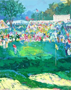 Bethpage Black Course, Limited Edition Silkscreen, LeRoy Neiman