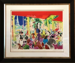 Chez Francis - Limited Edition Serigraph by LeRoy Neiman