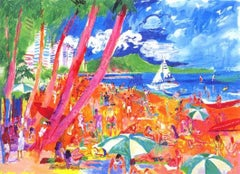 Diamond Head - Hawaii - Limited Edition Lithograph by LeRoy Neiman