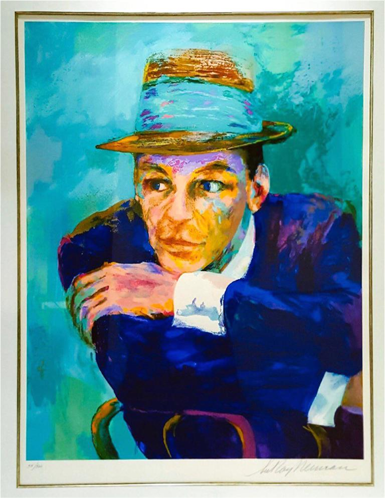 Frank Sinatra - The Voice - Print by Leroy Neiman
