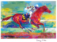 Funny Cide - Limited Edition - Hand signed and numbered by LeRoy Neiman