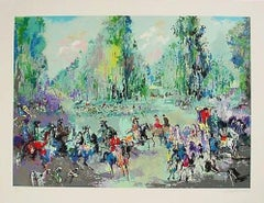 Hunt Rendez Vous - Limited Edition Serigraph by LeRoy Neiman
