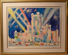 Ice Castle - Limited Edition Serigraph by LeRoy Neiman