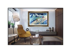 """LEROY NEIMAN Hand Signed and Numbered Serigraph """"Downers"""", Professionally Custom"""