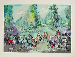 """Leroy Neiman """"Hunt Rendezvous"""" hand signed and numbered serigraph"""