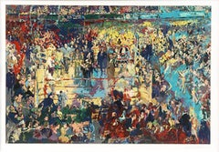 Leroy Neiman Introduction of the Champions Madison Square Garden serigraph S/No.