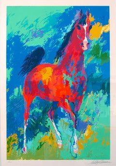 "Leroy Neiman ""Khemosabi"" serigraph 1985 Hand signed and numbered"