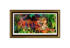 LeRoy NEIMAN Original Big Cats Color Serigraph Hand Signed Artwork Young Tiger