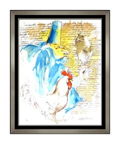 LeRoy Neiman Original Serigraph Hand Signed Punchinello Modern Artwork Painting