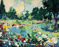 "Leroy Neiman ""Regents Park"" Serigraph hand signed and numbered"