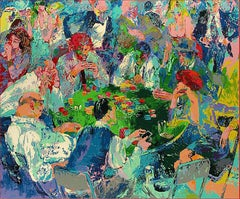 "Leroy Neiman ""Stud Poker"" serigraph 1989 hand signed and numbered"