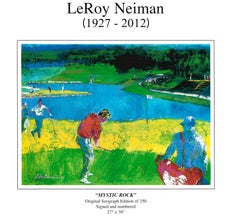 Mystic Rock - Limited Edition - Hand signed and numbered by LeRoy Neiman