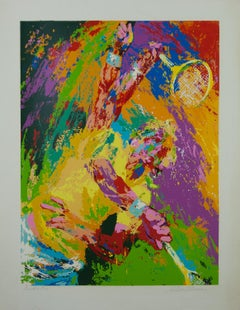 Power Serve LeRoy Neiman Serigraph