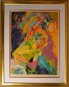 Power Serve - Limited Edition Serigraph by LeRoy Neiman