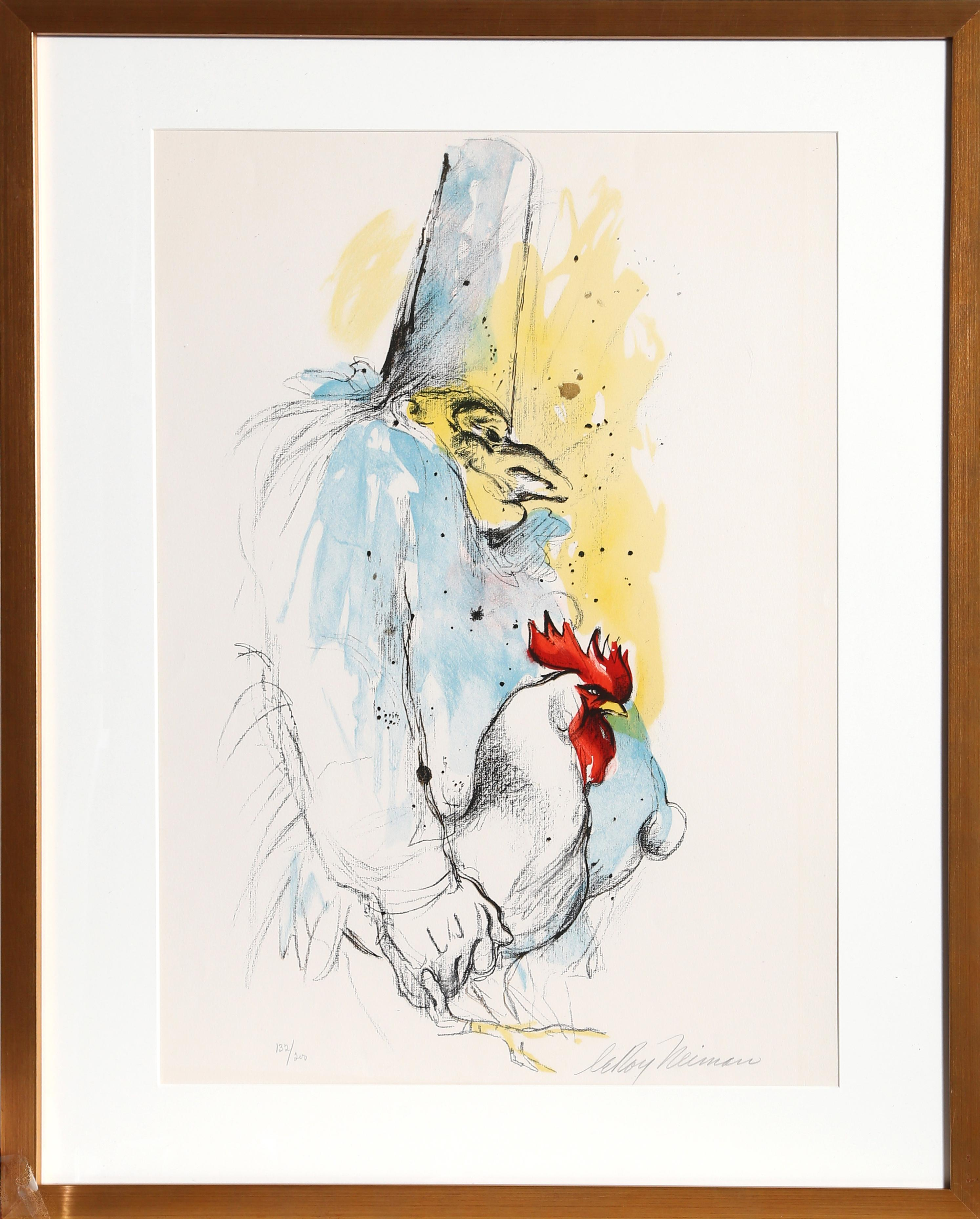 Punchinello Signed Lithograph by LeRoy Neiman