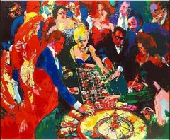Roulette II - Limited Edition Lithograph by LeRoy Neiman