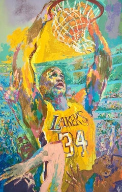 Shaq, Limited Edition Silkscreen, LeRoy Neiman - LARGE