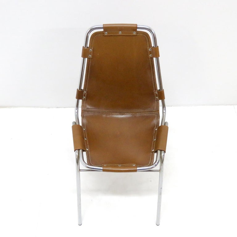 """Mid-Century Modern """"Les Arc"""" Chair Selected by Charlotte Perriand For Sale"""