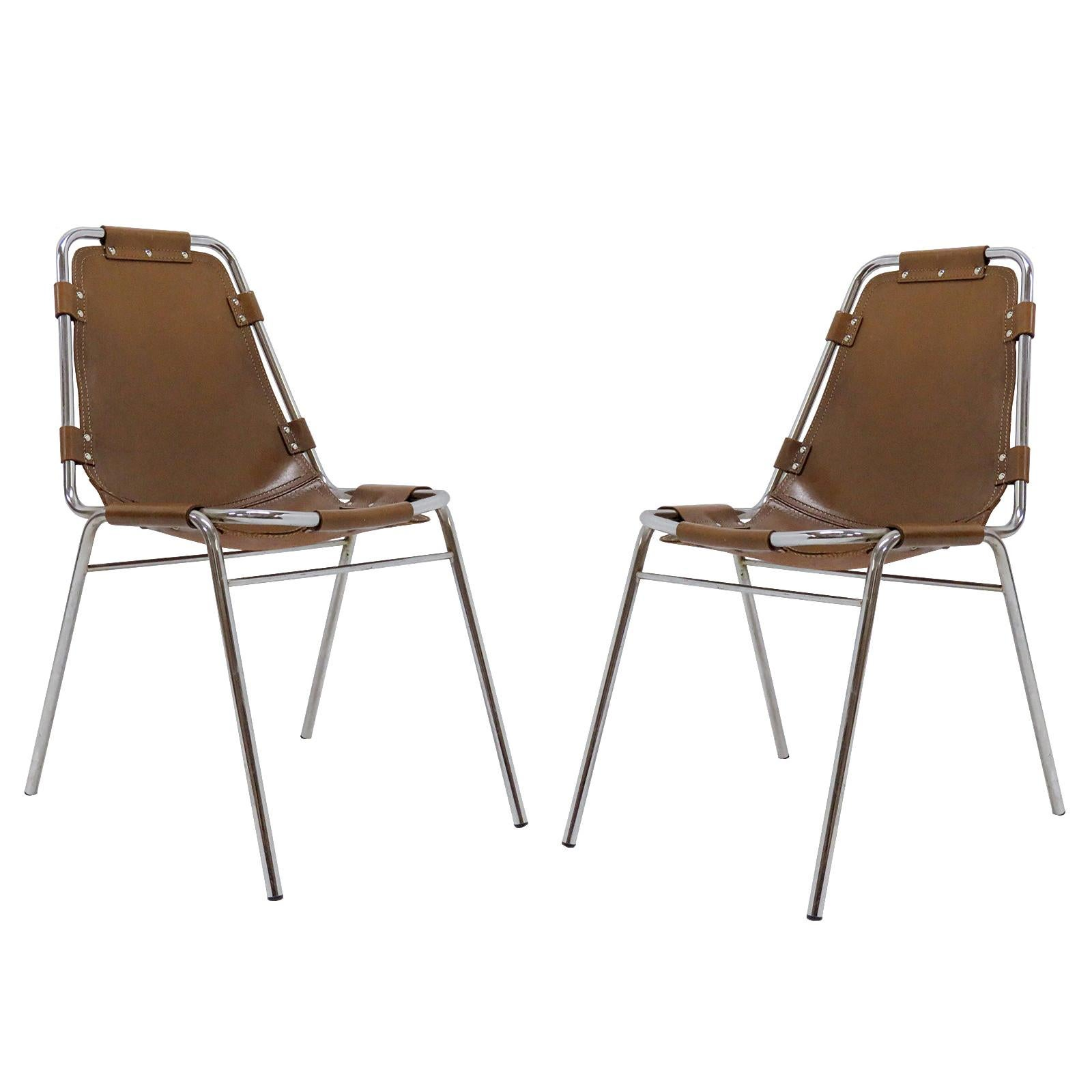 """""""Les Arc"""" Chairs Selected by Charlotte Perriand"""