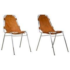 Les Arcs Chairs by Charlotte Perriand, 1960s Set 2