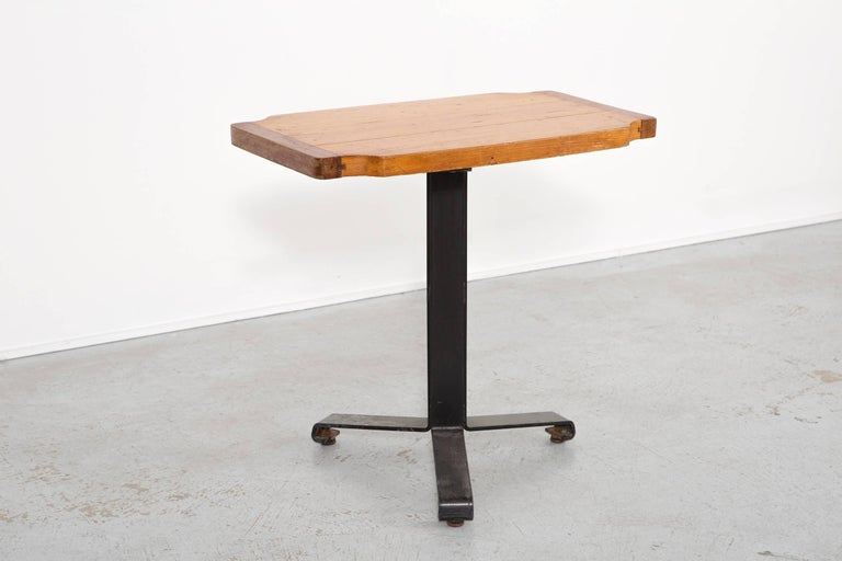 Mid-Century Modern Les Arcs Occasional Table by Charlotte Perriand For Sale