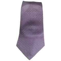 Les Copains light purple silk tie NWOT