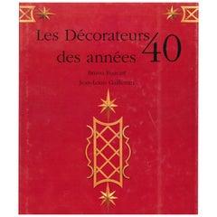 """""""Les Decorateurs des années 40s"""" Book"""