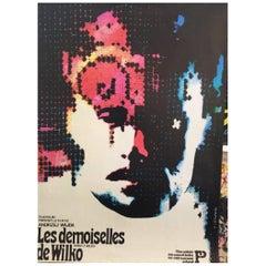 """Les Demoiselles De Wilko"" Polish Film Poster Original Vintage Poster"