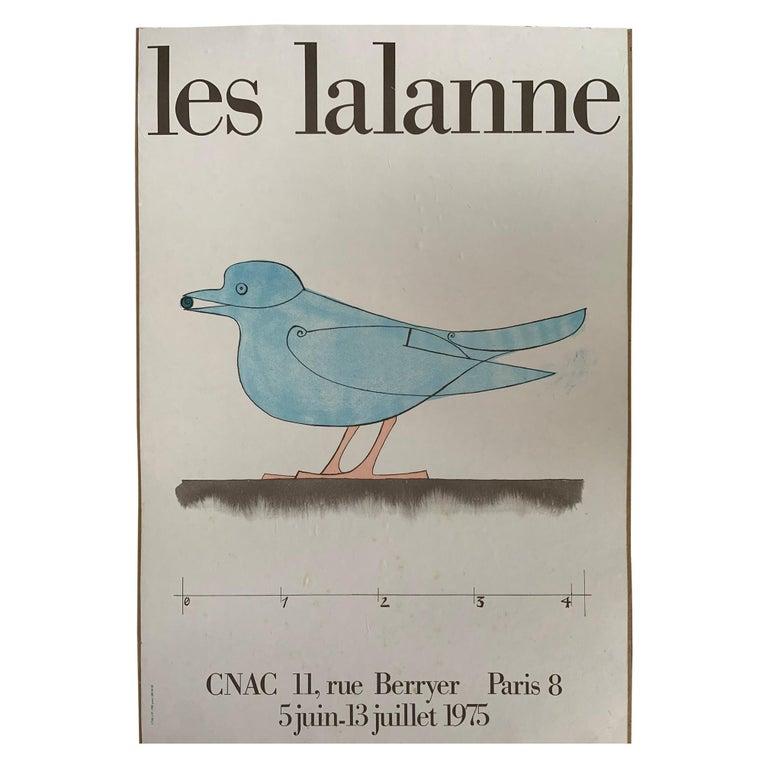 Les Lalanne Poster Paris CNAC Exhibit, 1975