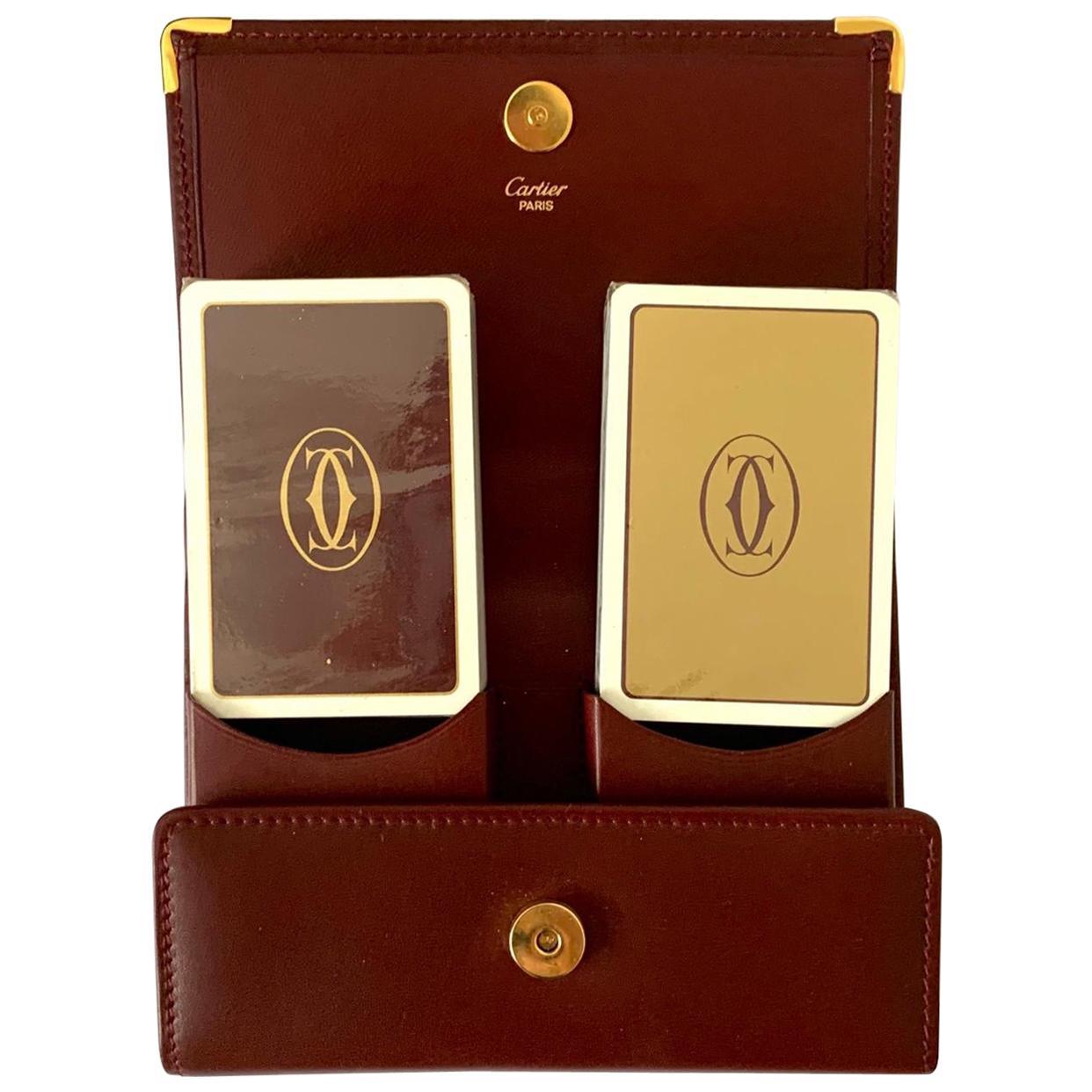 Les Must de Cartier Playing Cards, 1980