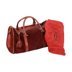 Red Luggage and Travel Bags