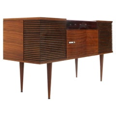 """Lesa """"LF730"""" Turntable Stereo Console, 1960s"""