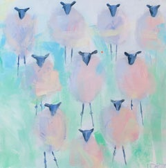 Ten Sheeps to the Wind, Original Painting