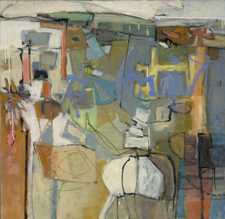 Leslie Allen Abstract Painting - Q Series: Flipbook