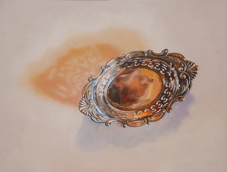 Leslie Lewis Sigler Still-Life Painting - The Hopeful